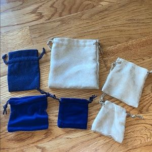 Assorted Jewelry Bags